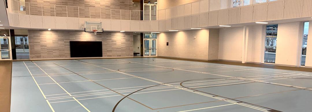Gymnasium at the Bernie Morelli Recreation Centre